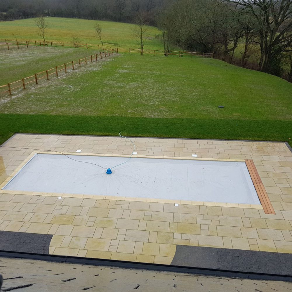 Cuckfield Swimming Pool Paving Installation