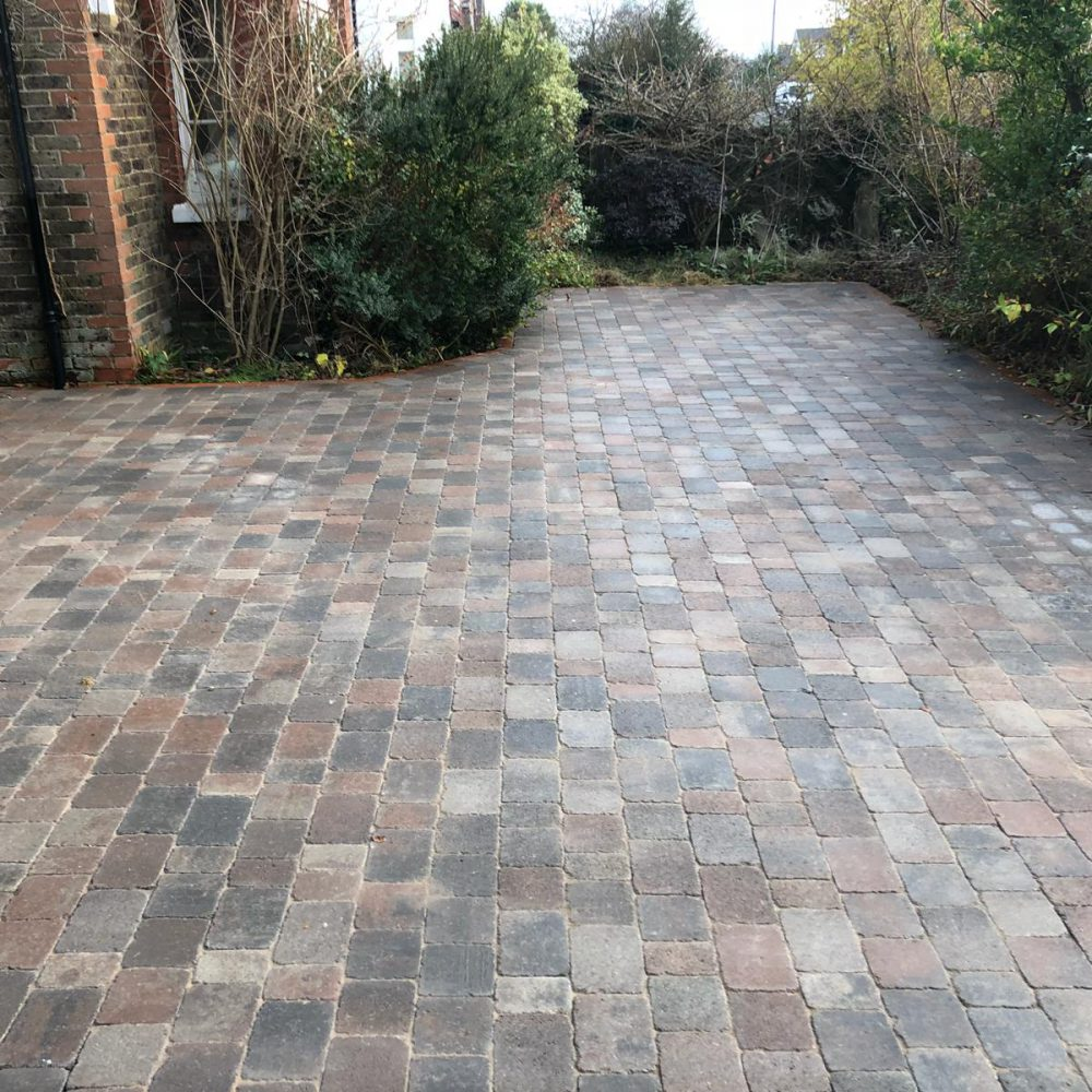 Country Cobble Driveway Installation- Horsham
